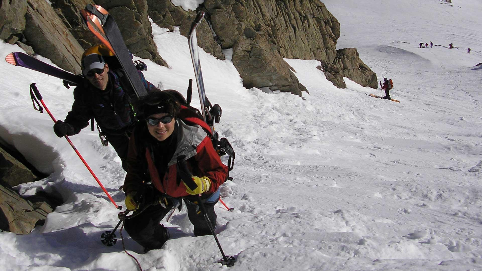 Corsi di sci alpinismo livello 4
