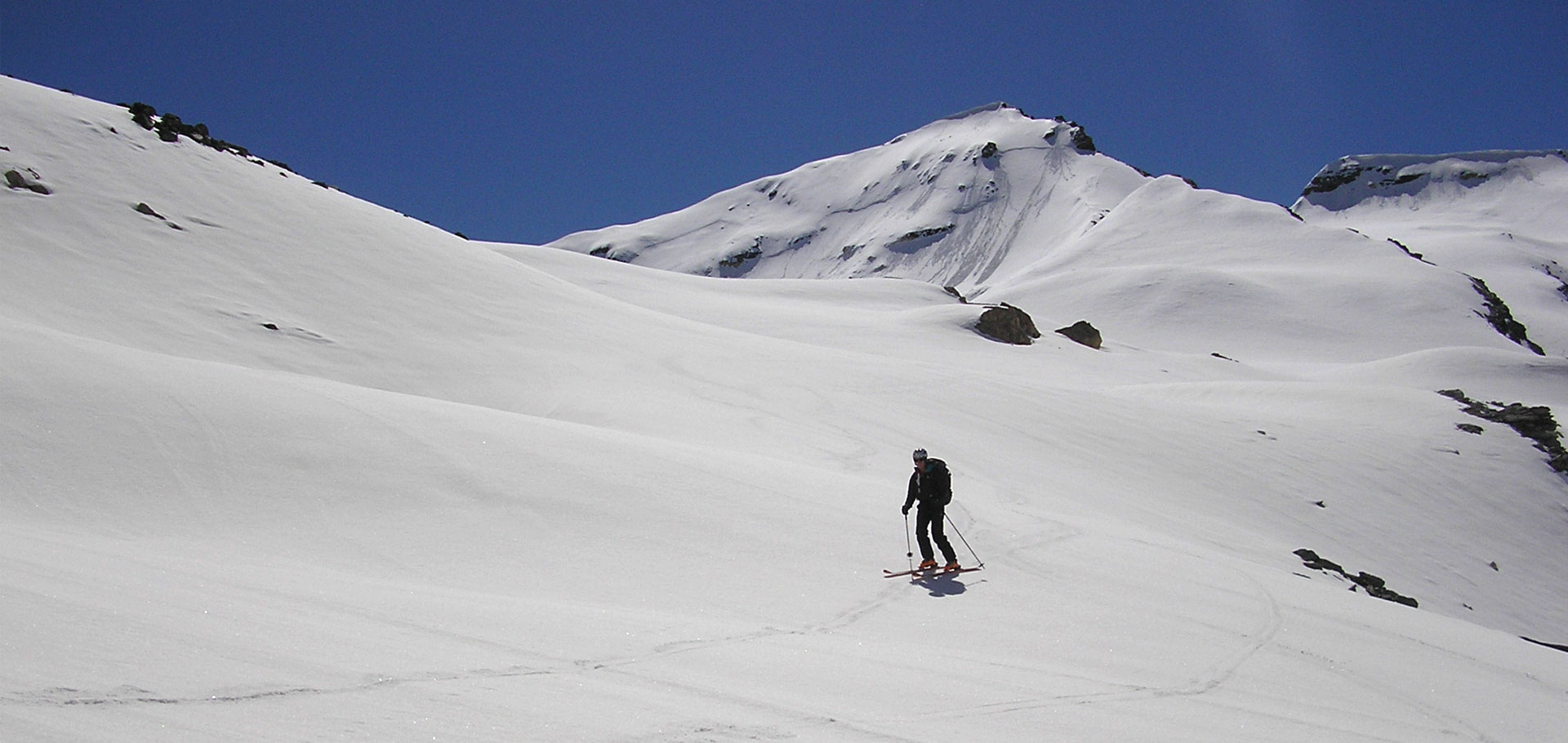 Sci alpinismo al Rifugio Benevolo (val di Rhémes)
